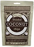 dry roasted coconut - Trader Joe's Roasted Coconut Chips Vegan Gluten Free Matured Coconuts Soaked in Fresh Coconut Milk Product of Thailand 2 Oz / 56 G for Snacking , Unique Salad Topping or Ice Cream Topping