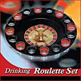 Shot Glass Roulette - Drinking Game Set (2 Balls and 16 Glasses) By Barwench