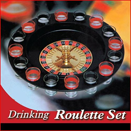 Barwench Shot Glass Roulette - Drinking Game Set