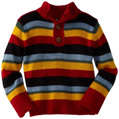 X-Label Boys 2-7 Kingston Henley Sweater