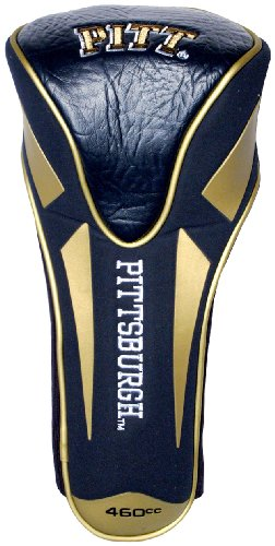 Pittsburgh Panthers Golf - Team Golf NCAA Pittsburgh Panthers Golf Club Single Apex Driver Headcover, Fits All Oversized Clubs, Truly Sleek Design