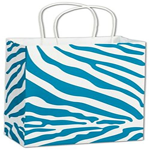 The Wild Side Turquoise Shoppers, 8 1/4 x 4 3/4 x 10 ()