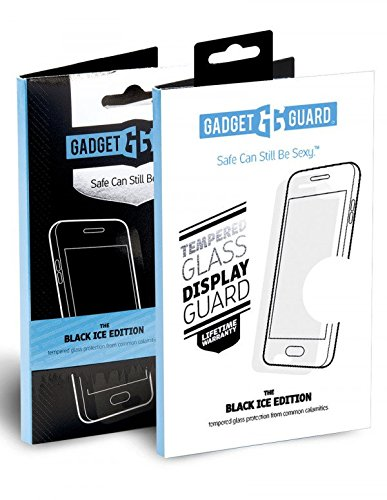 Gadget Guard Black Ice Edition Tempered Glass Screen Guard For Motorola Moto Z2 Play - Clear by Gadget Guard