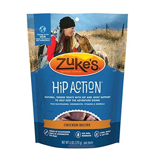 Zuke's Hip Action Chicken Recipe Dog Treats - 6 oz. (Chicken Dog Vitamins)