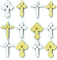 Jolee's Boutique Cabochons Dimensional Stickers, Crosses