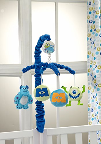 Disney Monsters at Play Musical Mobile, Multi-Colored (Monsters Inc Crib Bedding compare prices)