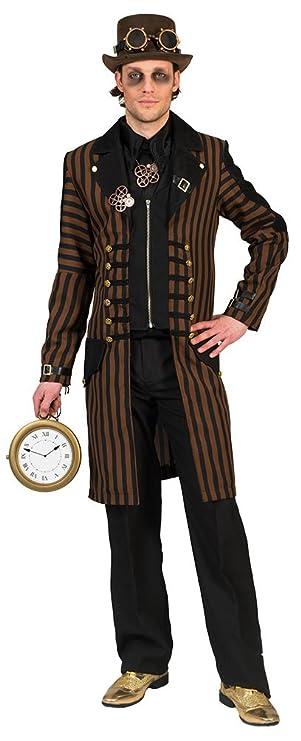 Karneval Klamotten Steampunk Herren Kostüm Steampunk Mantel