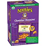 #2: Annie's Organic Cheddar Bunnies Baked Graham Snacks Box, 12 Count (Pack of 4)