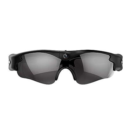 FastDirect Gafas de Sol con Cámara Espía Resolución de ...