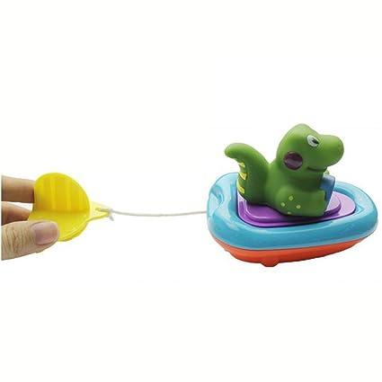 Bebé barco de baño animales juguetes, greatestpak bebé piscina para bebé juguete regalo niños agua