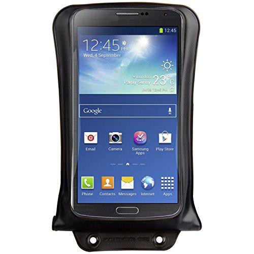 """DiCAPac WP-C2 Wasserdichte Smartphone Hülle für große Smartphones 4,5"""" / 11,4cm bis 5.5"""" 14 cm in schwarz"""