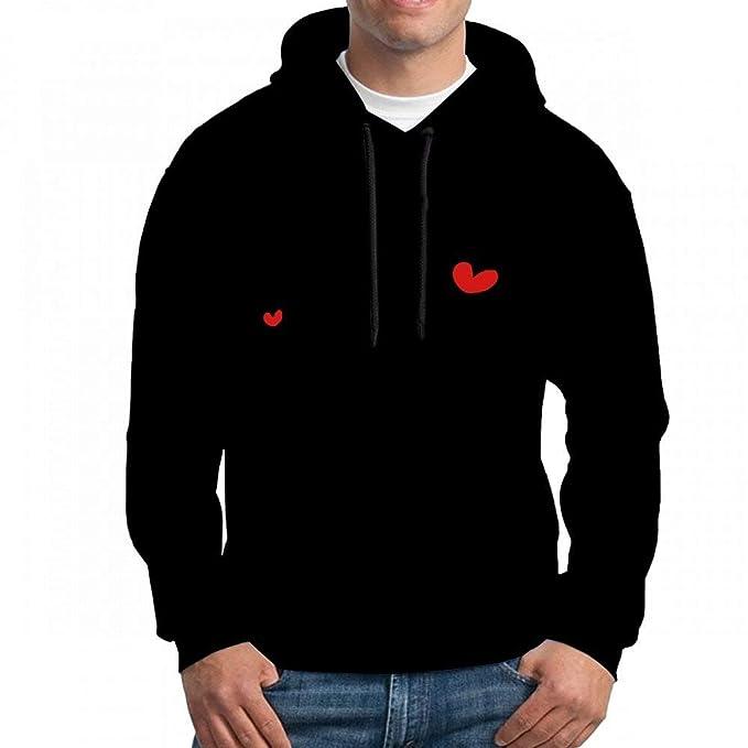 Sweatshirt Hoodie Men Name Zara TXT Hearts Hoodies Sweatshirt: Amazon.es: Ropa y accesorios