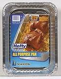 Ez All Purp Util Pan Size 1pk Hefty All Purpose 12 Lb. Aluminum Pan 13.5'' X 9.5'' X 3''