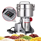 Best Ultra Grain Mills - DaTOOL 1000g Commercial Electric Grain Grinder New LED Review