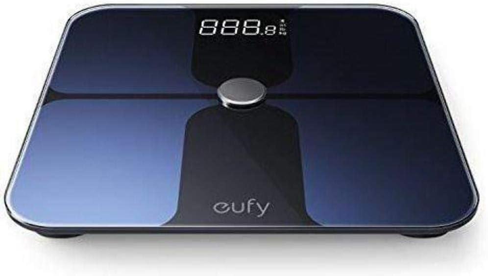 Pèse Personne électronique Intelligent Eufy by Anker bodysense-Balance Bluetooth Composition du Corps/Poids/IMC/etc.Avec Suivi sur Appli Android/Apple