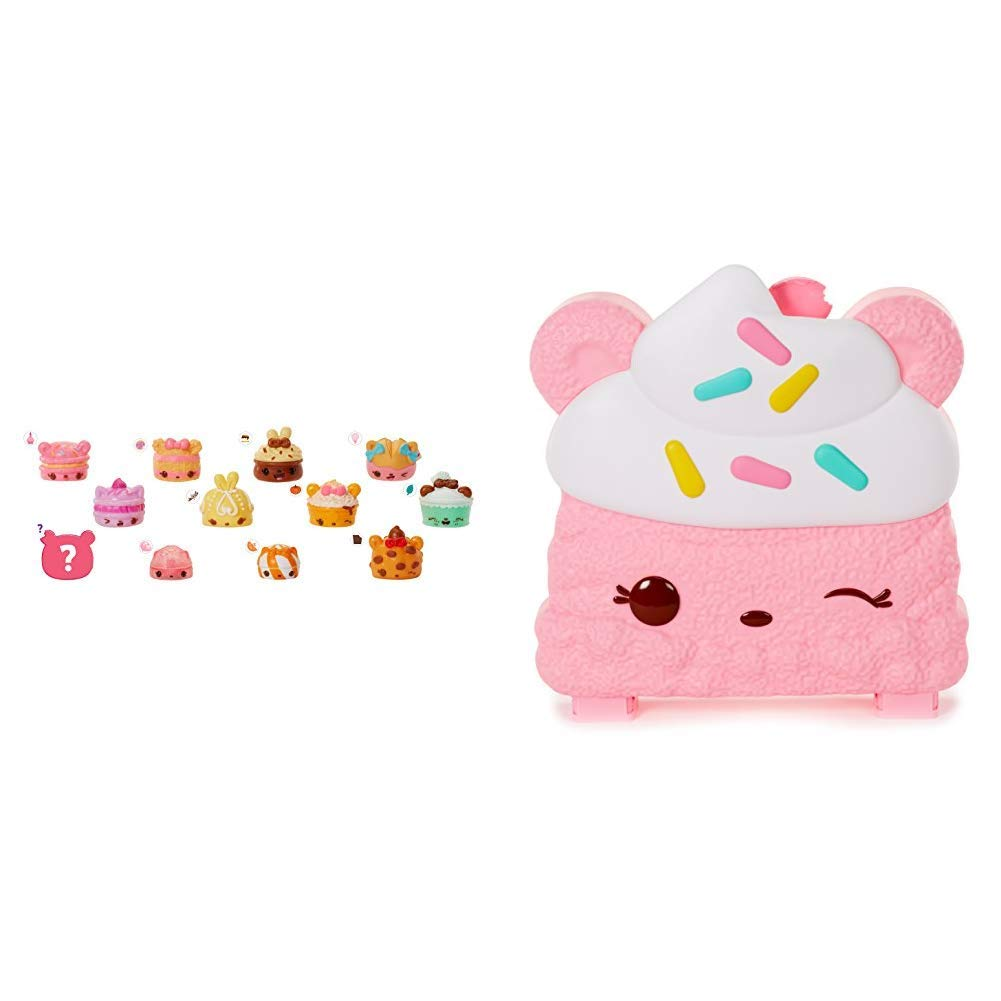 Num Noms Series 4 Dessert Tray Lunch Box and Collector's Case - Bundle