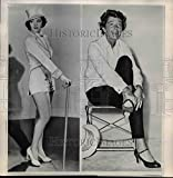 1964 Press Photo Ruby Keeler, Canadian-born American actress, dancer and singer