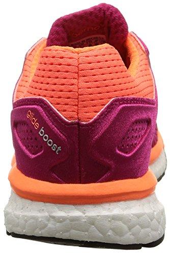 mujer 7 Supernova Boost Naranja Magenta adidas Glide Zapatillas W para Ow7qt0x