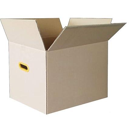 KKCF-HE Cajas De Cartón 10/20 por Paquete Marrón Tensión Soportada Manija De