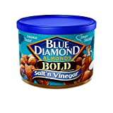 vinegar and salt almonds - BOLD Salt & Vinegar Almonds - case of twelve 6oz cans