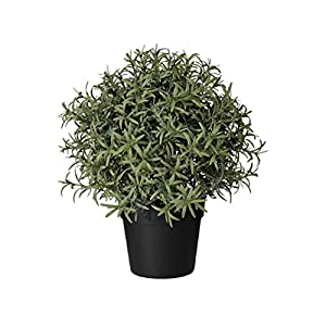 """Ikea Artificial Potted Plant Rosemary 9.5"""" 1"""