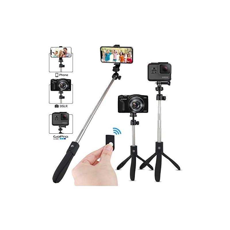 WONGYEAH Bluetooth Selfie Stick, Extenda