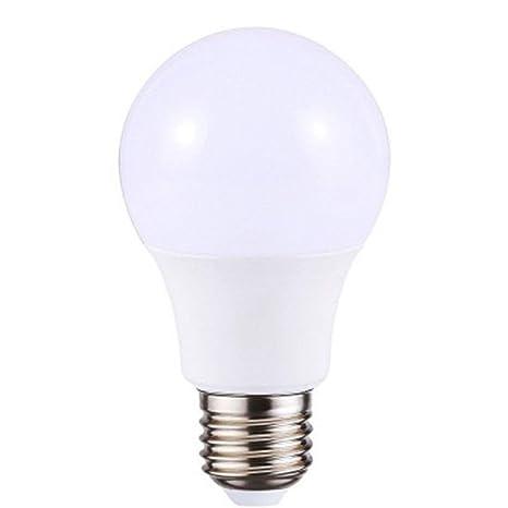 5 bombillas LED normales de 12 W E27, 6000 K CA 160 – 250 V