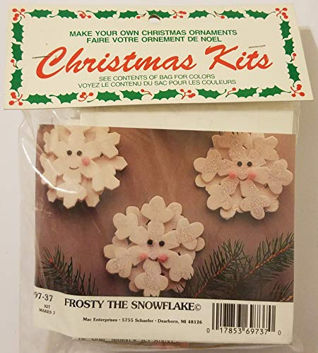 Ornament Snowflake Frosty - Frosty The Snowflake Christmas Ornament Craft Kit