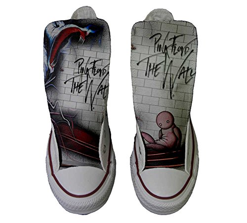 Converse All Star Customized - zapatos personalizados (Producto Artesano) The Wall - TG45