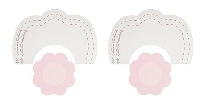 bc519e2a13 Image Unavailable. Image not available for. Colour  NEW ByeBra Breast Lift  Tape   Silk Nipple Covers ...
