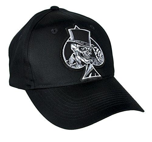 (Ace of Spades Skull Hat Baseball Cap Alternative Clothing Motorhead)