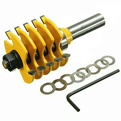 Your Supermart 1/2?Shank Splicing Puzzle Gong Floor Knife Router Bit Woodwork Cutter Tool by Your Supermart (Image #2)