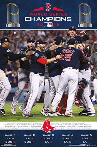 (Trends International 2018 World Series - Celebration Wall Poster 22.375