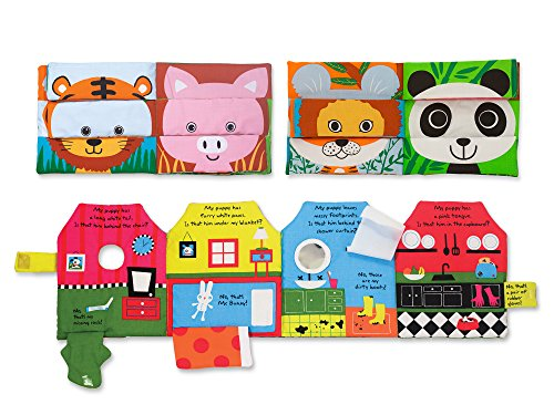 Mix Match Clothes (Melissa & Doug Soft Activity Baby Book Set: Mix and Match and Have You Seen My Puppy?)
