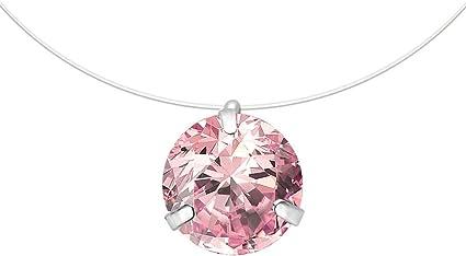 Nice Women Lady Silver U Style Pendant Rhinestone Collarbone Box Chain Necklace