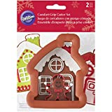 wilton cookie cutters christmas - Wilton Gingerbread House & Boy Cookie Cutter Set