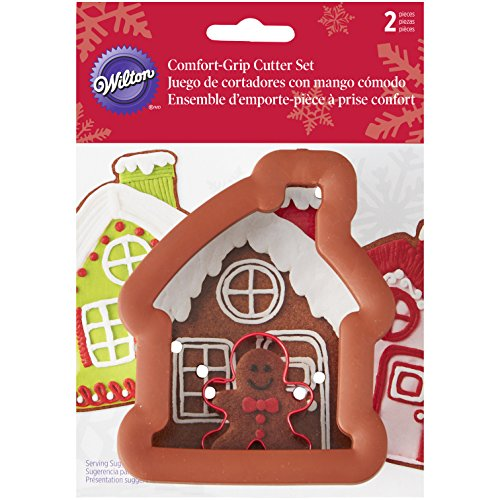 Wilton Gingerbread House & Boy Cookie Cutter Set