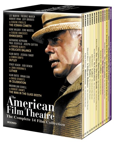 The American Film Theater Complete 14 Film Collection (The Iceman Cometh / A Delicate Balance / The Man in the Glass Booth / Butley / Luther / Rhinoceros / The Homecoming / Three Sisters / Galileo / In Celebration / The Maids / Jacques Brel) (15 D) by Kino International