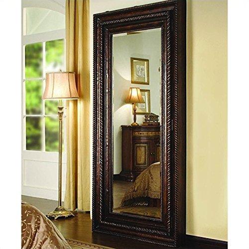 Seven Seas Floor Mirror (Hooker Furniture 500-50-656 Floor Mirror w/Hidden Jewelry Storage, Mahogany Veneer)