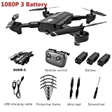 GPS Drone with Camera HD 1080P Professional FPV WiFi RC Drones Auto Return Dron RC Quadcopter Helicopter VS F11 X5,1080P-3 Battery