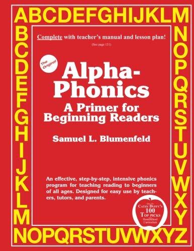 Alpha-Phonics A Primer for Beginning Readers (Phonics Reader Books)