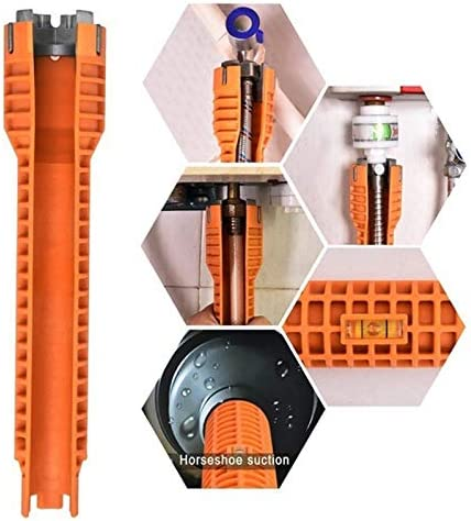 Robinet et lavabo installateur anti-d/érapant multifonction pour /évier//salle de bain//cuisine