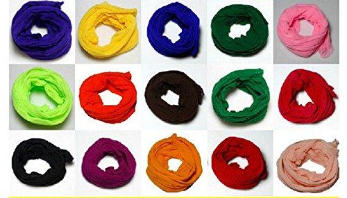Generic Mesh Flower Stocking DIY Nylon Silk Stockings Flower for Diy Flower 50pcs Multicolor -