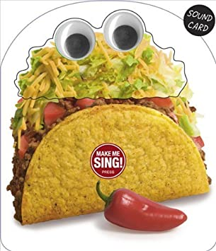Amazon novelty googly eyes make me sing the taco song novelty googly eyes make me sing the taco song birthday sound greeting card new bookmarktalkfo Images