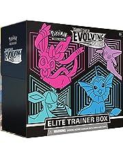 Pokémon USA, Inc. | Pokemon TCG: Zwaard & schild 7 – Evolving Skies Elite Trainer Box (één naar toeval) | Kaartspel | Leeftijd 6+ | 2 spelers | 20+ minuten speeltijd