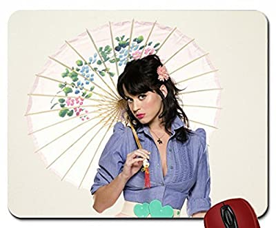 women katy perry umbrellas 2560x1440 wallpaper mouse pad computer mousepad