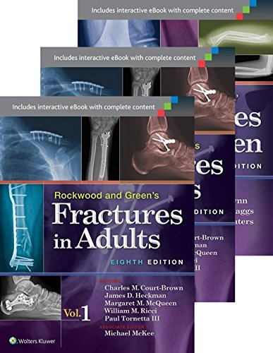 Books : Rockwood, Green, and Wilkins' Fractures in Adults and Children Package