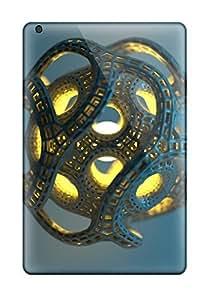 Ideal Heimie Case Cover For Ipad Mini/mini 2(3d Cgi Abstract Cgi), Protective Stylish Case