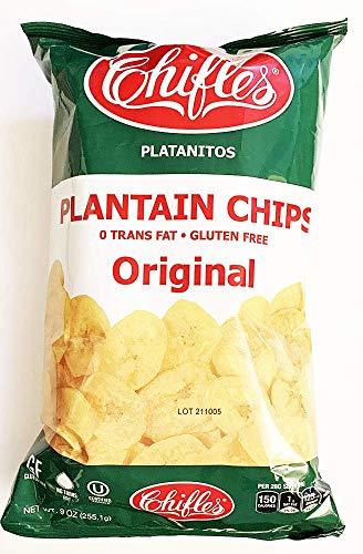 Chifles Plantain Chips Platanitos Original Gluten Free (2 Pack) ()