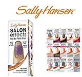 Sally Hansen Salon Effect Real Nail Polish Strips, French Mixed(Lot of 10)